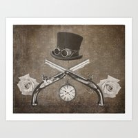 Steampunk or Death Art Print