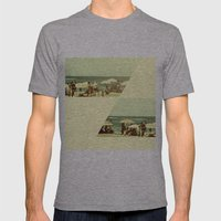 More Summertime Mens Fitted Tee Athletic Grey SMALL