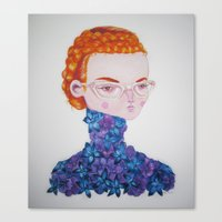 Recato/Demureness Canvas Print