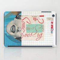 Ew Some Blue iPad Case