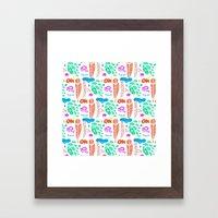 pattern I Framed Art Print