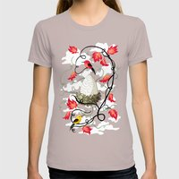 Nest 2 Womens Fitted Tee Cinder SMALL