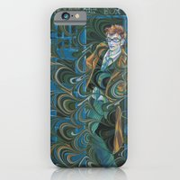 iPhone & iPod Case featuring Dr. Who by Alex Bayliss