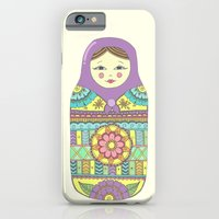 iPhone & iPod Case featuring Russian Doll by haleyivers