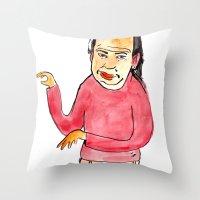 spagett Throw Pillow