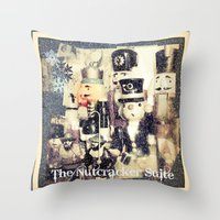 The Nutcracker Suite Throw Pillow