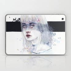 Blindfolded Goddess Laptop & iPad Skin