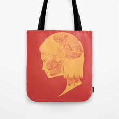 How the Strings are Pulled (Two-tone.) Tote Bag