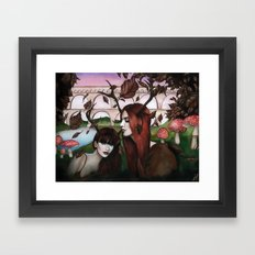 Strange Woodland Creatures Framed Art Print