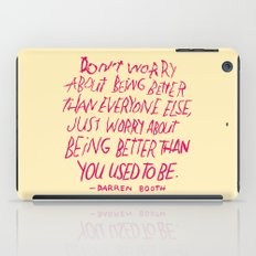 Darren Booth on Being Better iPad Case