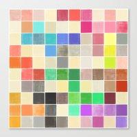 Colorquilt 3 Canvas Print