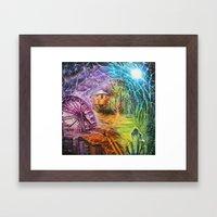 Snap Shots Framed Art Print