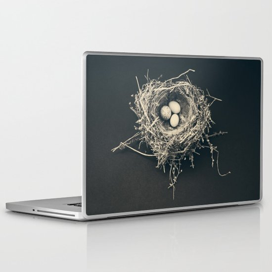 bird nest Laptop & iPad Skin