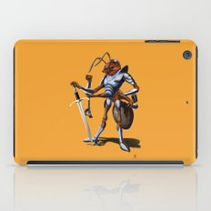 Soldiering On (colour) iPad Case
