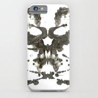 Inkblot Skull iPhone 6 Slim Case