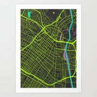 2nd Biggest Cities Are C… Art Print