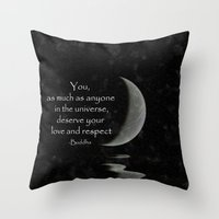 You, As Much As Anyone..… Throw Pillow