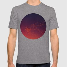 Sunset Gradient Connecti… Mens Fitted Tee Tri-Grey SMALL