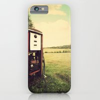iPhone & iPod Case featuring The Old Gas Pump by Jason Michael