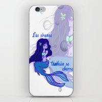 Sirena iPhone & iPod Skin