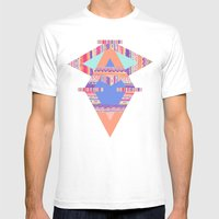TRIBAL CRAYON / Mens Fitted Tee White SMALL
