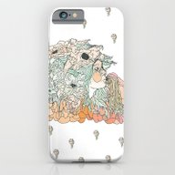 iPhone & iPod Case featuring W A R M // M A R S H by Cassidy Rae Limbach