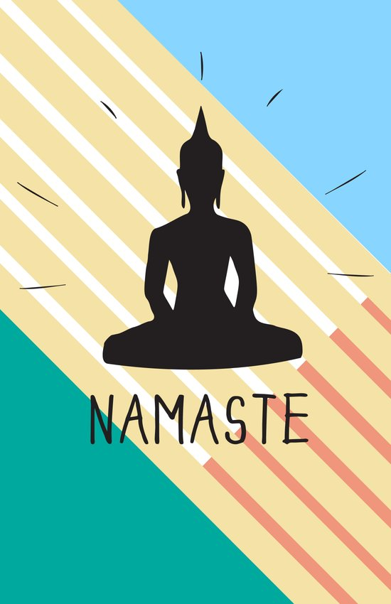 NAMASTE COLOR Art Print