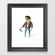 MJFox Framed Art Print