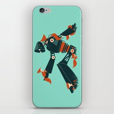 Foxes & The Robot iPhone & iPod Skin