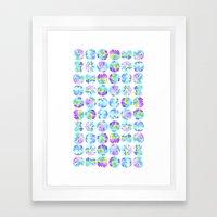 Drip Drip Drop Framed Art Print