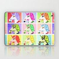 Unicorn Pop Art Laptop & iPad Skin
