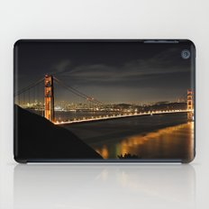 Golden Gate Bridge @ Night iPad Case