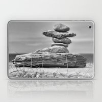 The Cairn In Black And W… Laptop & iPad Skin