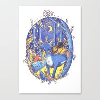 Not All Those Who Wonder Are Lost  Canvas Print