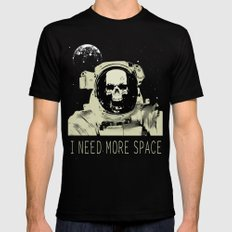 I need more Space Mens Fitted Tee Black SMALL