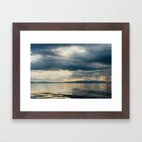 CLOUD SHADOWS Framed Art Print