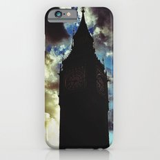 Big Ben up in the clouds iPhone 6 Slim Case