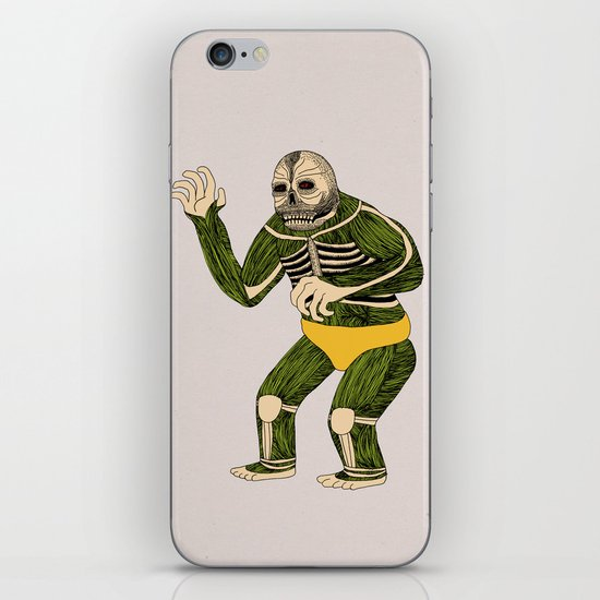 The Original Glowing Skull iPhone & iPod Skin