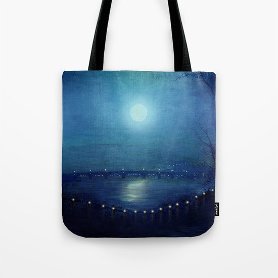 I'll Be Your Moon Tote Bag