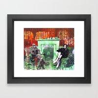 High Society Framed Art Print