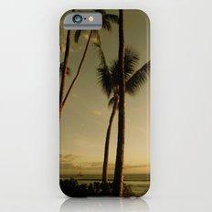 Barcos de Maui iPhone 6 Slim Case