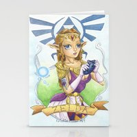 Tattooed Zelda Stationery Cards