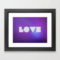 Emerald Love Framed Art Print