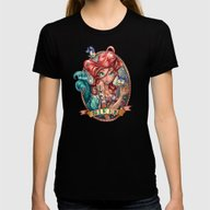 SIREN Womens Fitted Tee Black LARGE