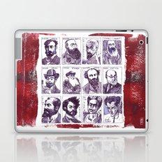 Portraits of artists Laptop & iPad Skin