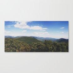 Mt. Tremper Canvas Print