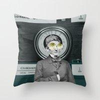 Dr Smena And The Cozmic … Throw Pillow