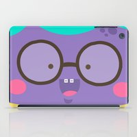 Purple Smile iPad Case