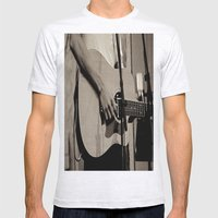 Soundcheck Mens Fitted Tee Ash Grey SMALL