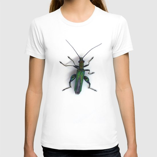 Thick Legged Flower Beetle - Oedemera Nobilis T-shirt